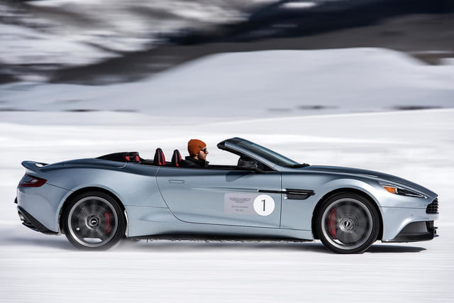 2016 aston martin on ice first drive 11 am track