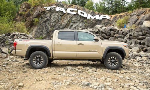 2016 Toyota Tacoma TRD Off-Road First Drive   Digital Trends