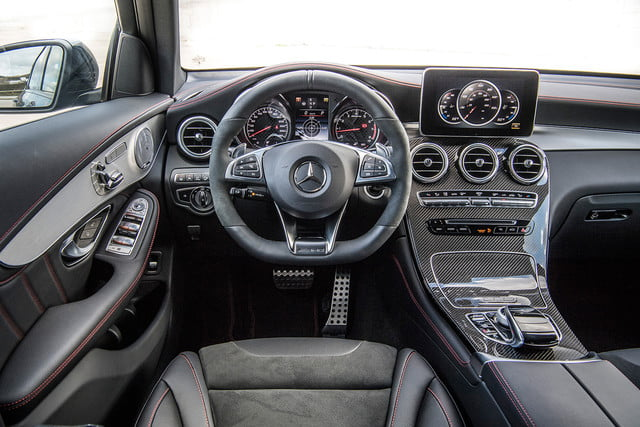 2017 mercedes amg glc43 coupe first drive press 3