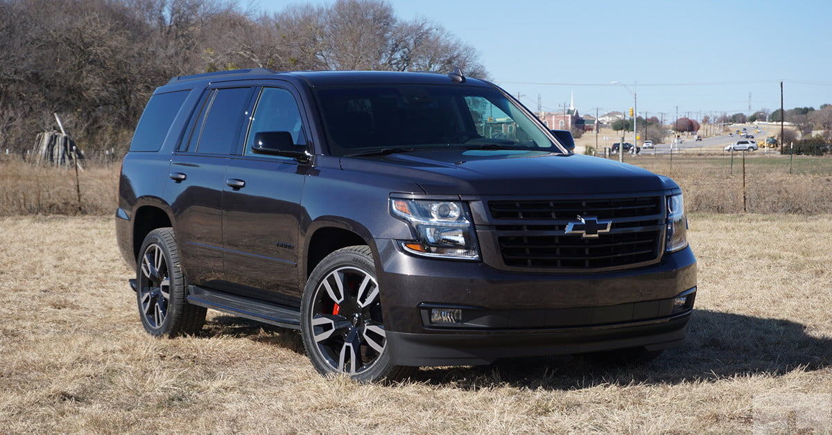 2018 Chevrolet Tahoe Rst First Drive Review Digital Trends