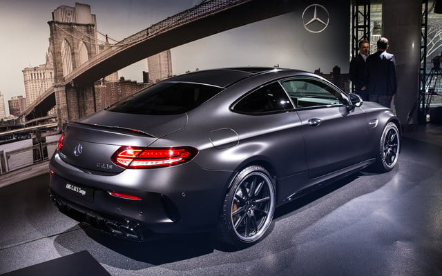 mercedes amg subtly updates c 63 lineup for new york 2018  2019 class 9