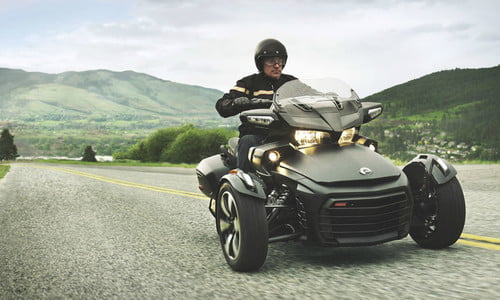 2018 Can-Am Spyder Three-Wheelers | Pictures, Performance