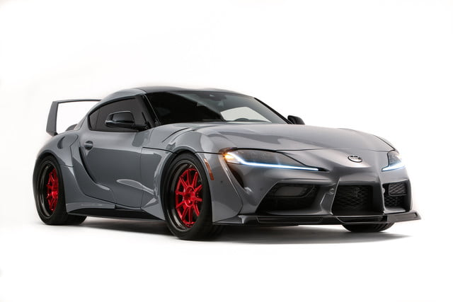 toyota displaying eight supra based builds at sema 2019 grsupra hyperboost 03