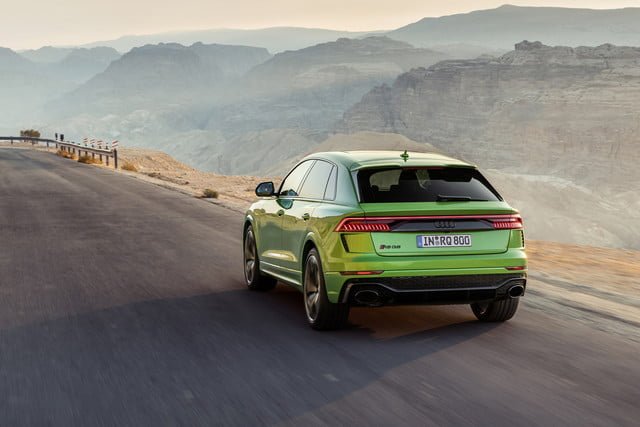 2020 audi rs q8 high performance suv unveiled with 600 horsepower official 2