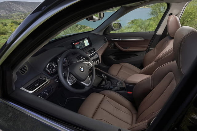 2020 bmw x1 gets new look front end interior upgrades official 9
