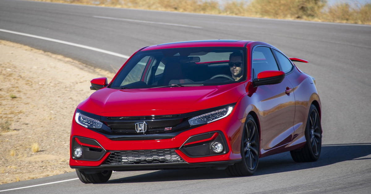 2020 Honda Civic Si Gets Minor Styling Tech Updates