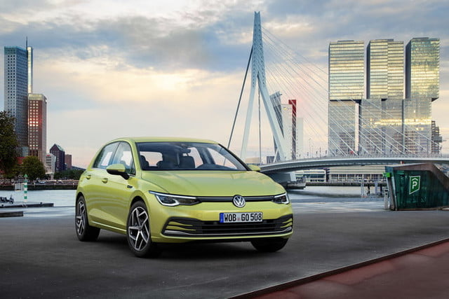 new 2020 volkswagen golf gets big tech powertrain upgrades official 2