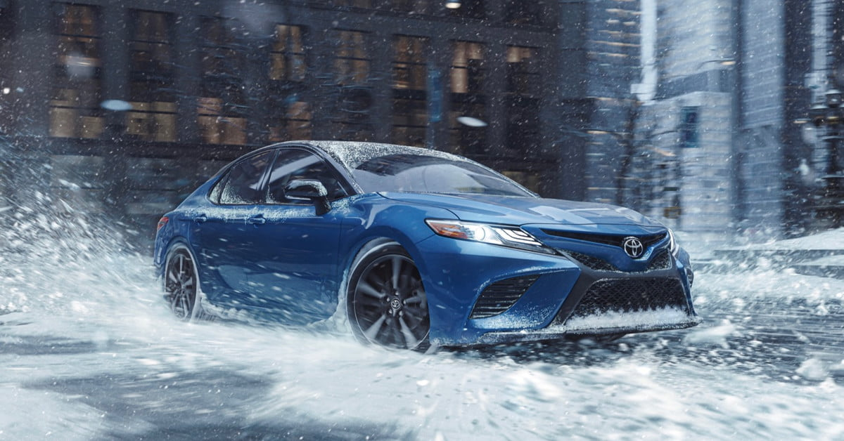 With newly added AWD, Toyota's Camry and Avalon are ready to battle winter