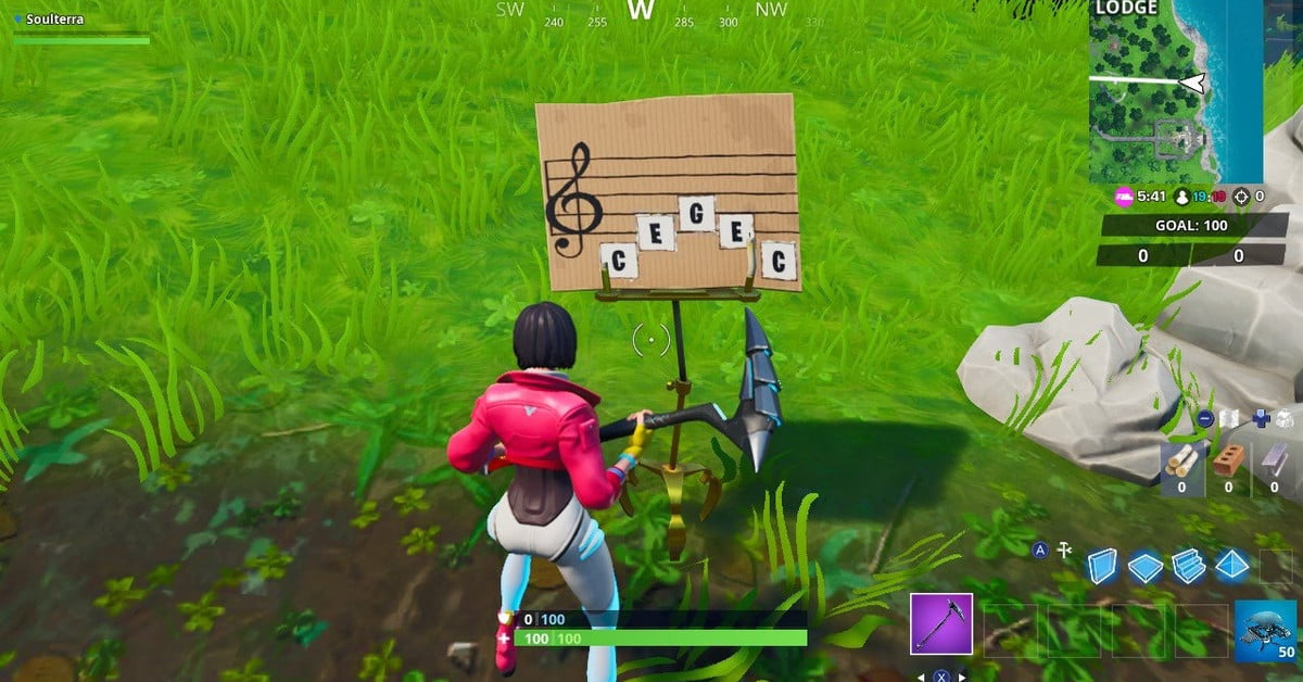Fortnite Week 6 Challenge Guide Visit An Oversized Piano
