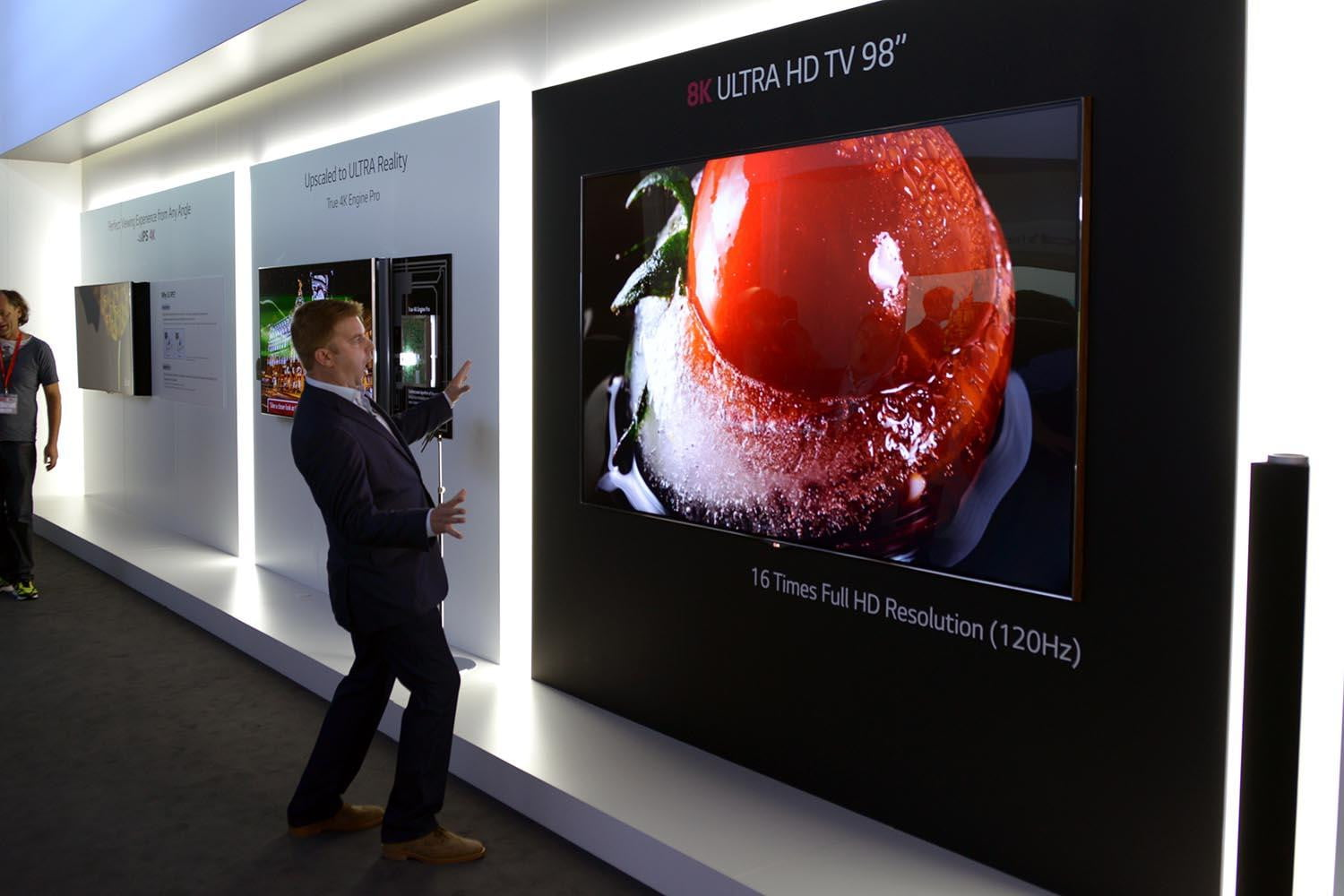 LG' new Super UHD TV lineup includes 98-inch 8K monster