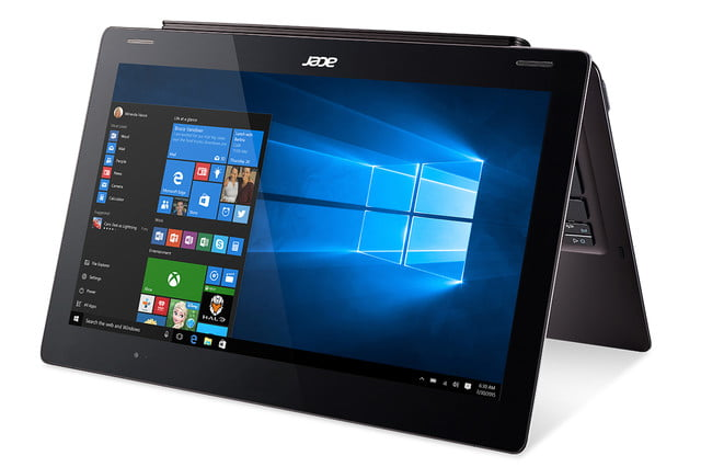 acer computing announce ces 2016 switch 12 s sw7 272 win10 tent mode right