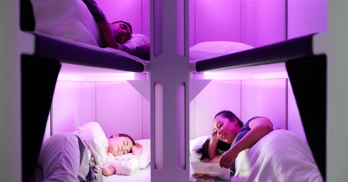 Air New Zealand Unveils Sleep Pods for Passengers in Coach | Digital Trends