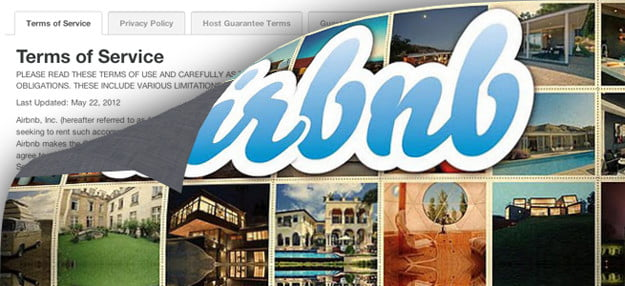 Terms & Conditions: Airbnb makes everything your problem