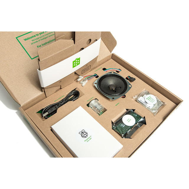 google aiy kits now include raspberry pi voice kit opened1