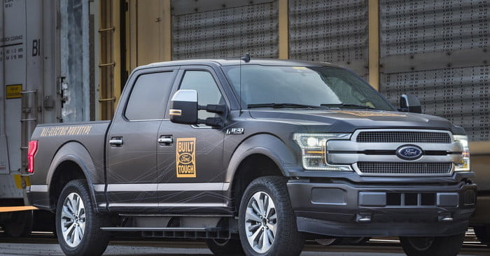 Ford Plans Electric, Hybrid Versions of the F-150 Pickup