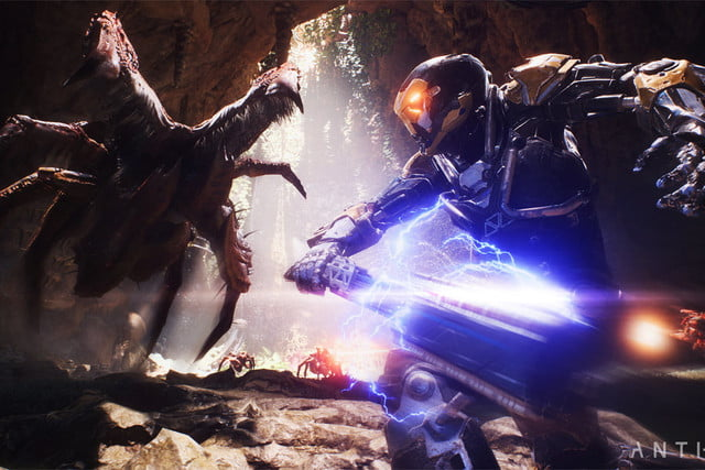 bioware ea anthem arrives february 2019 xbox playstation pc play e3 2018  5