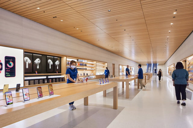 check out the stunning design of apples newest retail store apple  singapore 5