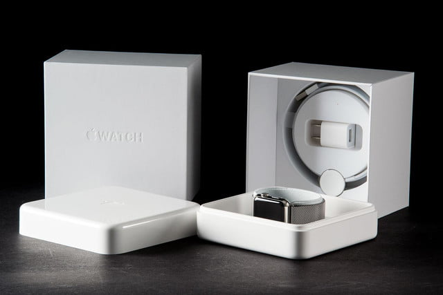 Apple Watch boxes
