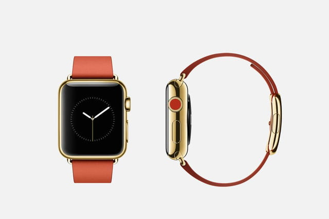 apple watch release news edition red leather