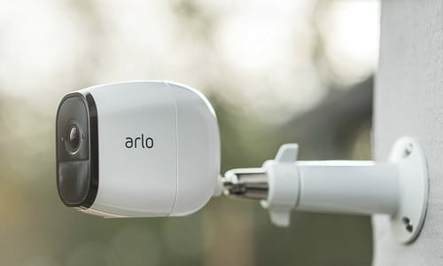 Arlo Pro 720P HD Security Camera System VMS4230 with FREE Outdoor Mount VMA1000