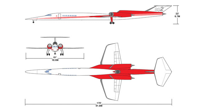 high speed concepts that could mark the return of supersonic travel as2 specifications