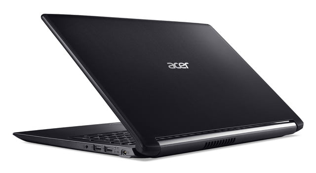 acer introduces new pcs at next event aspire 5 rear left facing