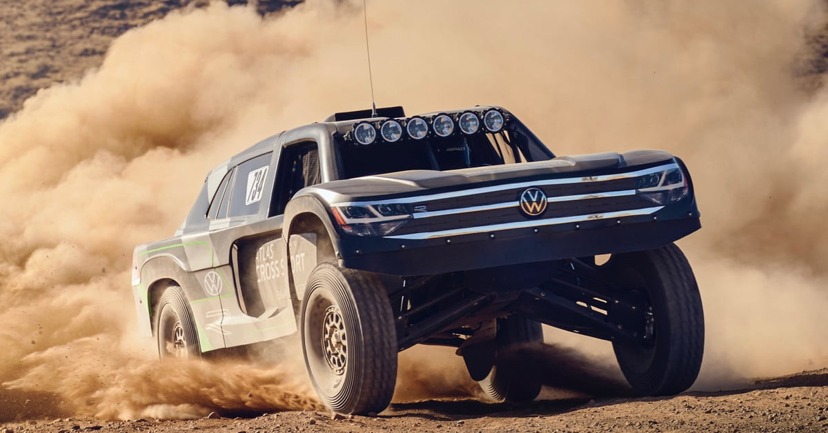 Volkswagen found something fun to do with its Atlas Cross Sport family hauler