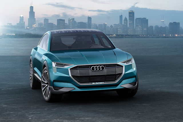 audi chooses e tron name for electric suv quattro concept technology study a158930 large