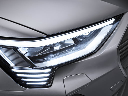 Audi once again pushes the envelope with headlights that are frickin lasers