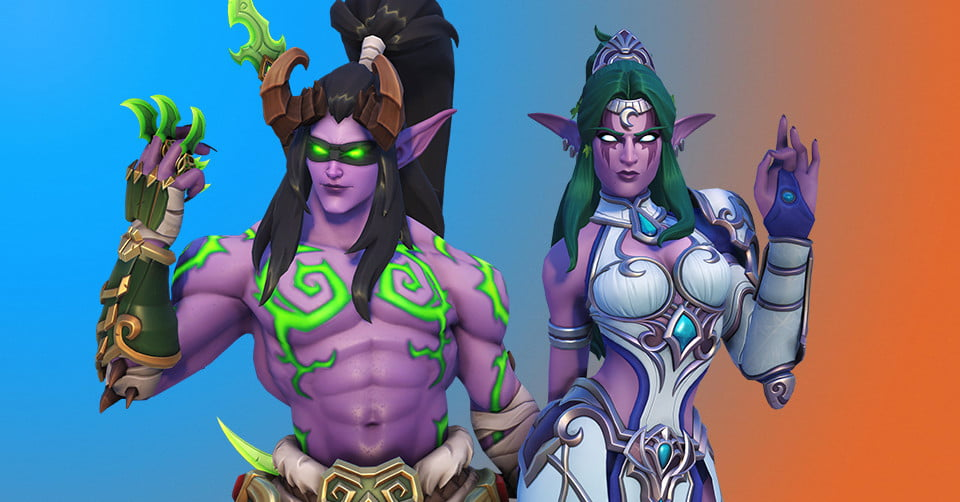 BlizzCon 2019 Virtual Ticket goodie bag comes with sweet WoW and Overwatch skins