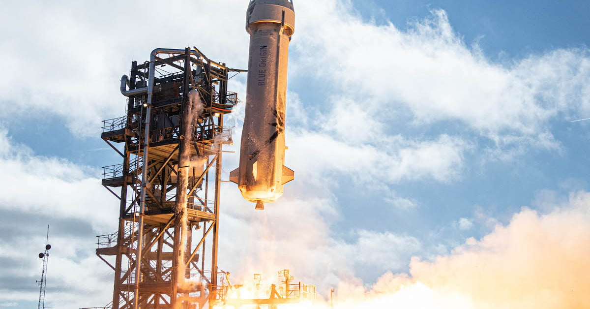 How to watch Blue Origin launch and land its reusable rocket on Tuesday