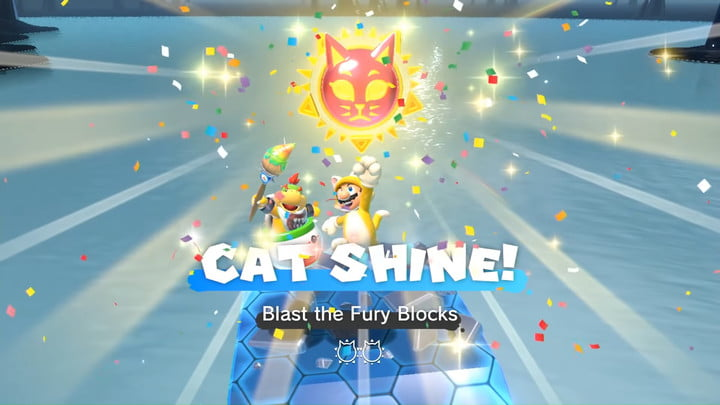 Bowser's Fury Cat Shine