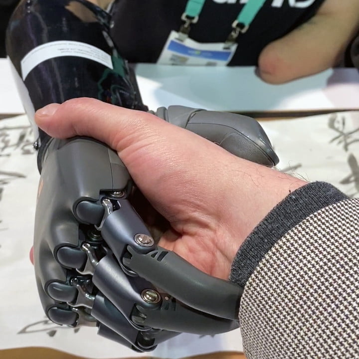 Want to shake hands with the future? Check out this brain-controlled prosthetic