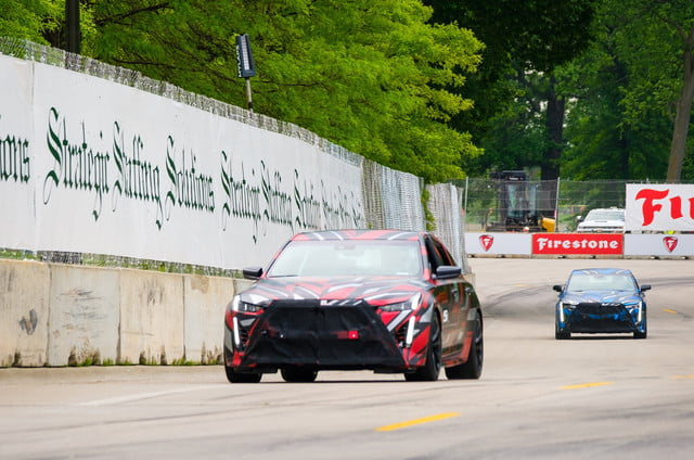 cadillac previews ct4 ct5 based performance sedans v series sneak peek at detroit grand prix