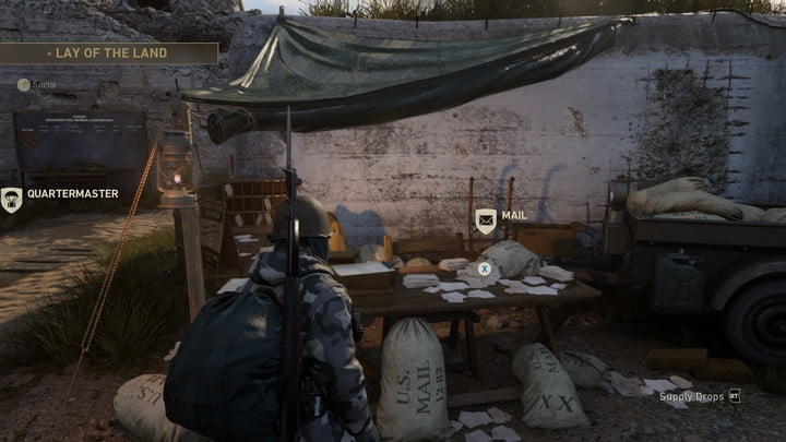 Call of Duty: WW2 Headquarters guide - Mail