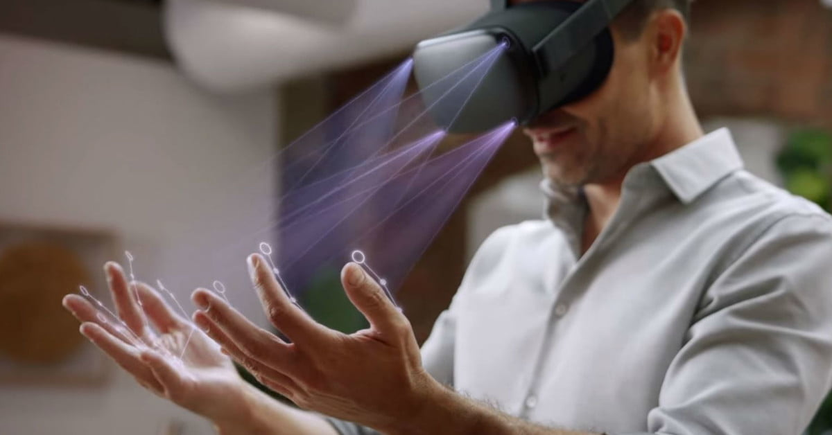 Future versions of the Oculus Quest will have finger-tracking abilities