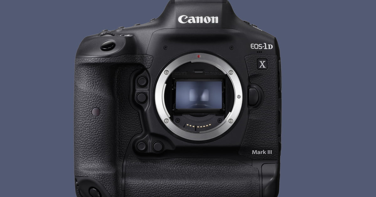Canon's EOS-1D X Mark III wants to squash mirrorless with 20 fps, 10-bit color thumbnail