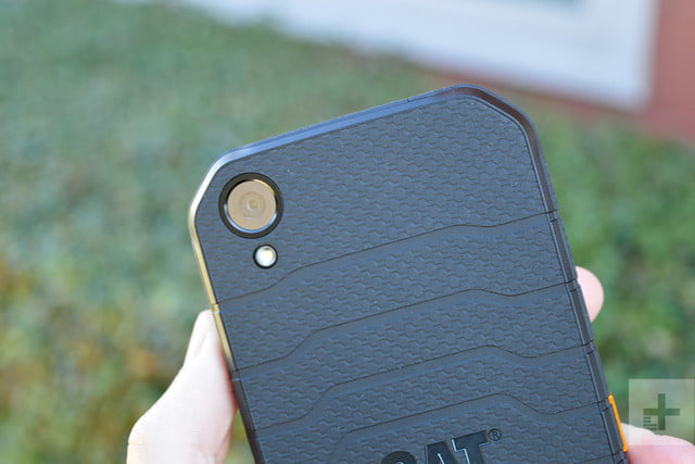 CAT S41 review back angle