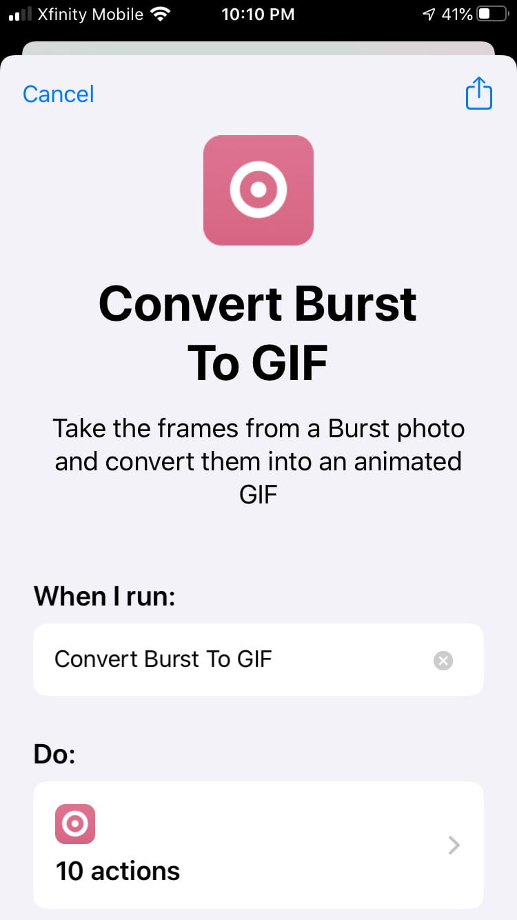 how to make a gif on your iphone convert2