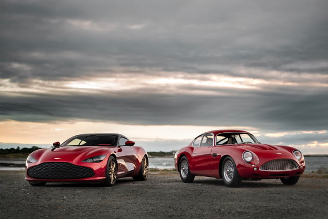 aston martin dbs gt zagato comes with a classic car copyright  nick dungan