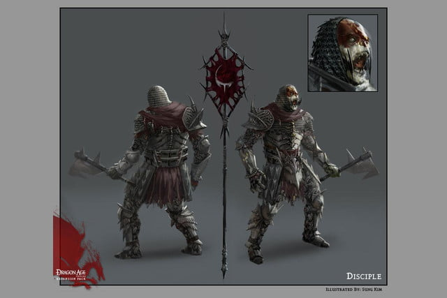 heres everything need know story leading dragon age inquisition dao concept art 27