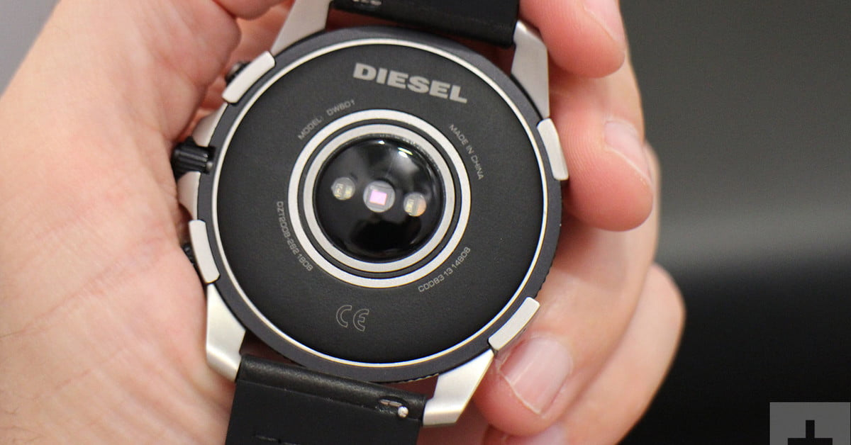 The Diesel On Axial Is a Wear OS Smartwatch That Loudly