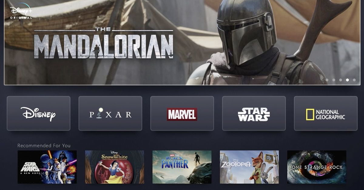 Disney+ streaming service reportedly already has over 1 million subscribers