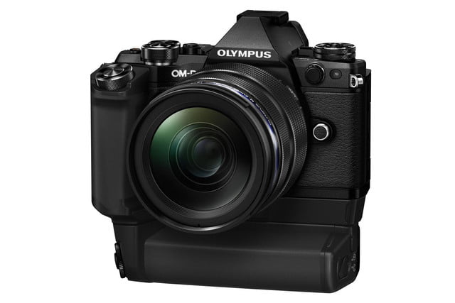 olympus e m5 mark ii puts focus movie stabilization 40 megapixel photos m5markii blk right m1240 hld8