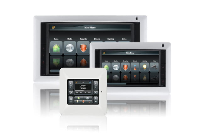 ELAN InWall TS10 and TS7 Touch Screens and TS2 Touchpad