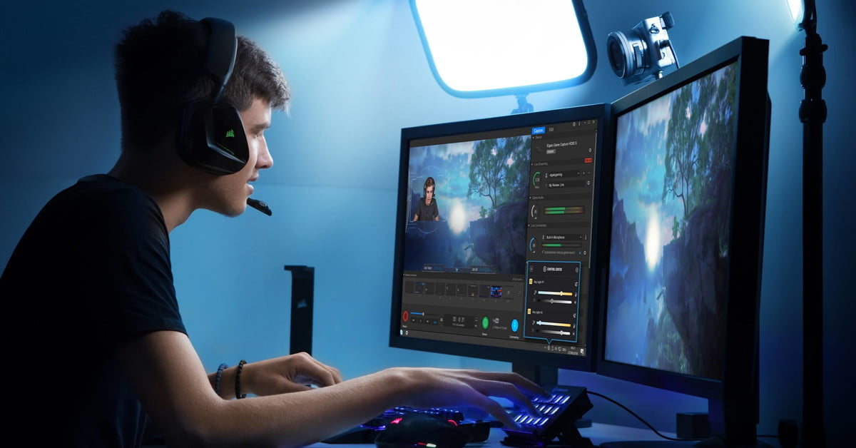 CES 2019: Elgato Key Light Gives Streamers Professional