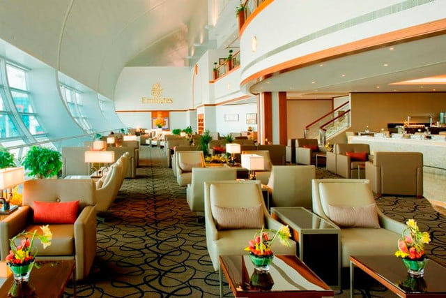 the worlds best airport lounges emirates first class lounge dubai