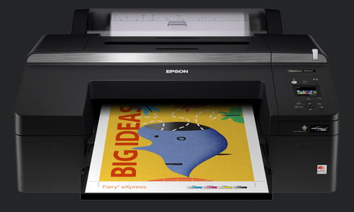 With 10 Inks, the New Epson SureColor P500 is All About