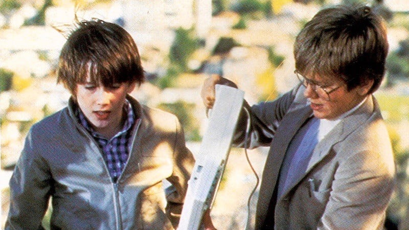 Ethan Hawke and River Phoenix from Explorers (1985)