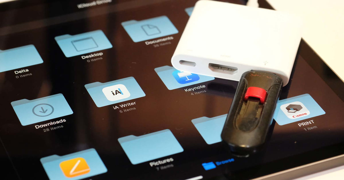 How to Use External Storage With an iPhone or iPad | Digital Trends
